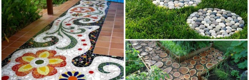 Топ 12 самых красивых вариантов садовых дорожек