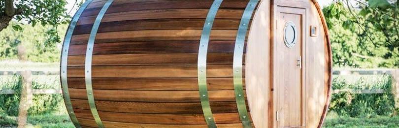 Почему баня-бочка — лучший вариант для дачи, заменяющий традиционный русский вариант?