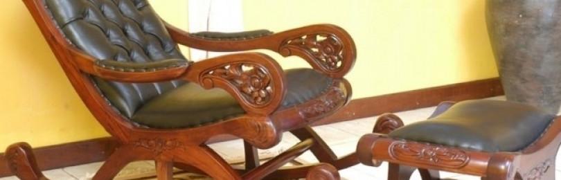 Как и из чего сделать кресло качалку своими руками