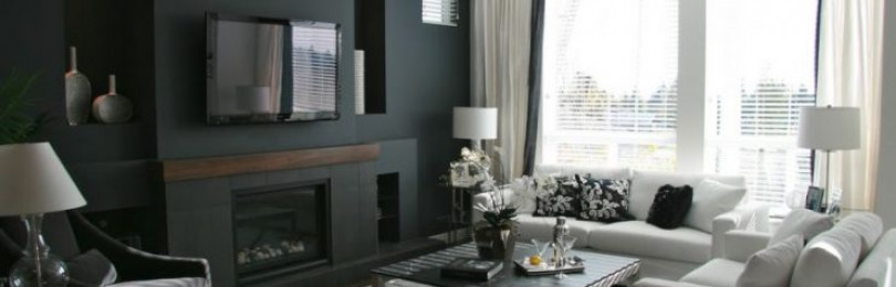 Черная гостиная – 115 фото лучших идей в интерьере монохромной гостиной