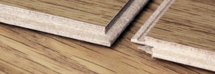 Щели при укладке ламината: как устранить?