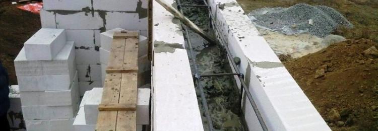 Армопояс мансардного этажа: расчет размеров и порядок установки