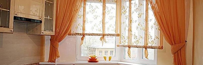 Короткие шторы на кухню: правила выбора и практические советы