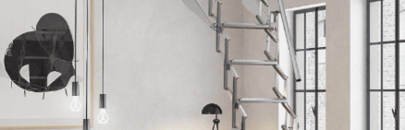 Чердачные лестницы: виды конструкций и их возможности (20 фото)