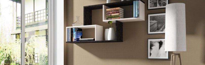 Как самостоятельно сделать книжную полку?