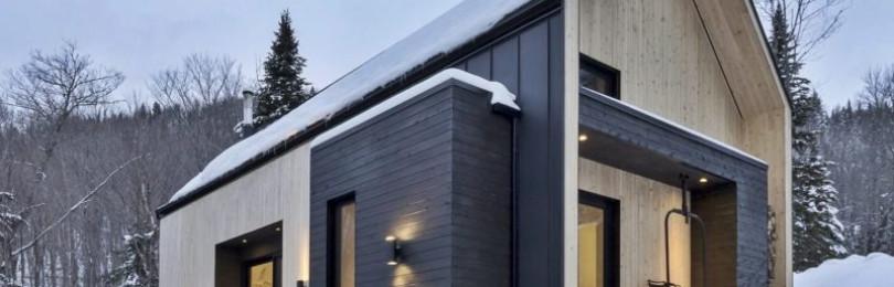 Декор фасада дома деревом: советы, виды, стили