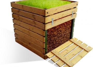Помощь дачнику: компостный ящик своими руками