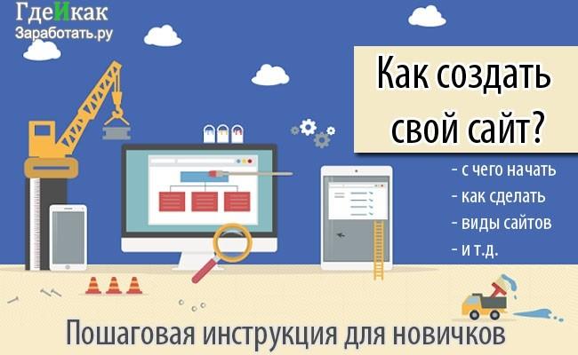 Создание сайта бесплатно для новичков типа продвижения сайта