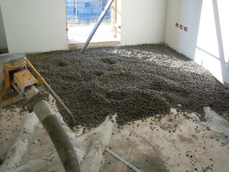 Керамзитобетон устройство пола цементные растворы для герметизации